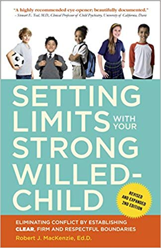 cover of Setting Limits with Your Strong Willed Child book